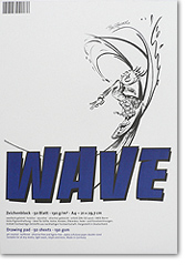 Drawing pad Wave, 130 g. / 60 lb paper, 50 sheets